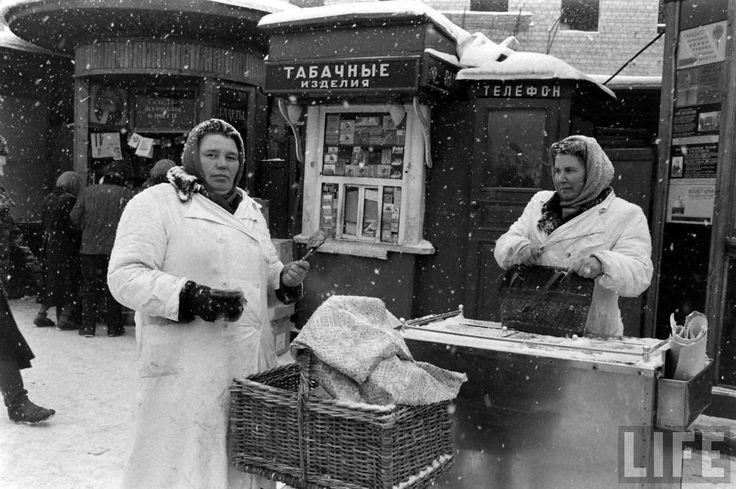 Москва и москвичи. Зима 1959 года глазами Карла Миданса (журнал Life)