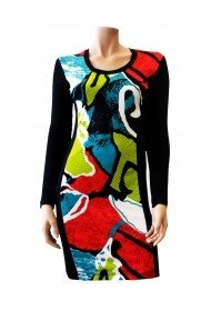 Matisse Dress with Racing Stripe