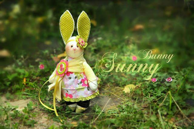 Handmade by Artveronika: Sunny Bunny!!!