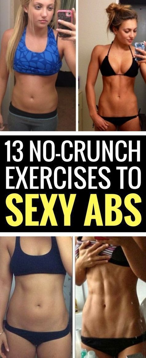 13 No-Crunch Moves To Uncover Your Flat Abs - Pushing Donuts