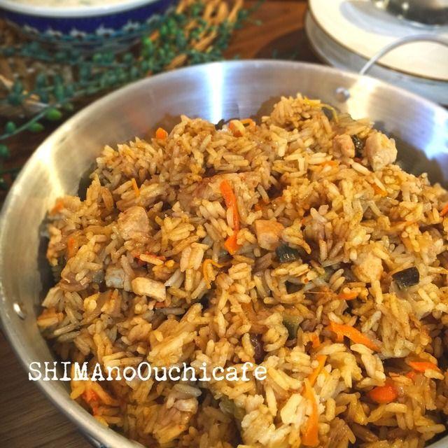 お家で簡単!インド料理♪チキンビリヤニ(インドのスパイシー炊き込み御飯)