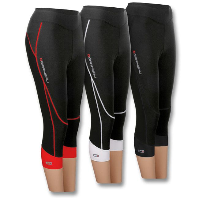 Journey Cycling Knicker by Louis Garneau - just purchased these in white/black and they are so soft! They fit true to size and feel so sleek. Padding is thin, works for 30 miles or less. Will update on increased mileage.