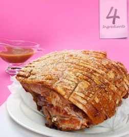 Roast Pork with a delicious Crispy Crackling from 4 Ingredients Christmas