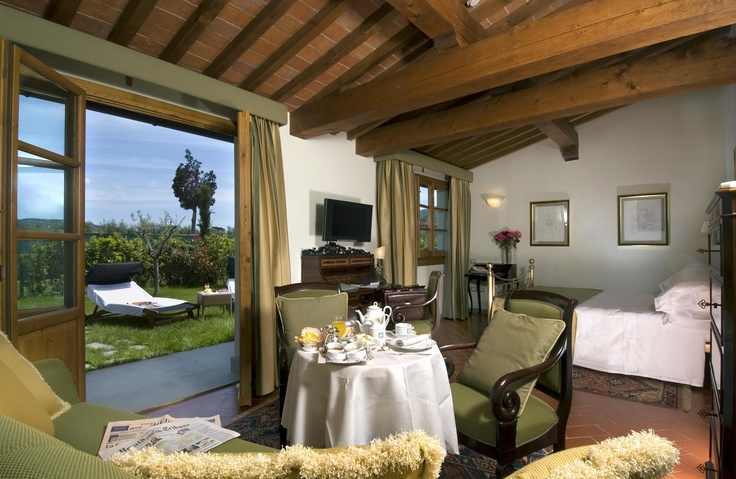 Junior Suite Garden - Villa Olmi Resort