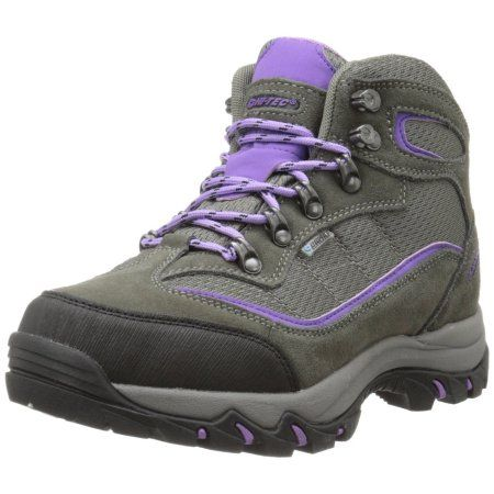 Hi-Tec 9022 Women's Skamania Mid-Rise Waterproof Hiking Boots Suede/Fabric