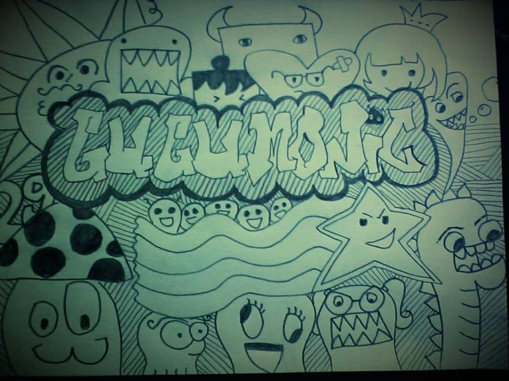 the doodle art by monic