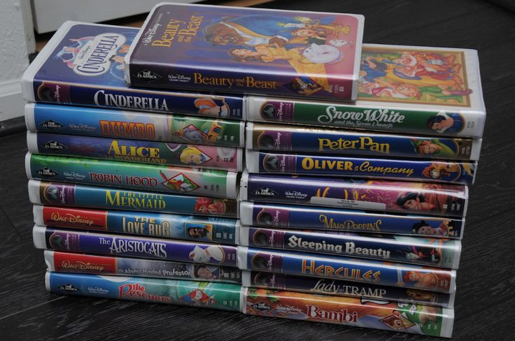 Did You Hold On To Your Old Disney VHS Tapes? You Could Be Sitting On Some SERIOUS Cash!   Heartti.com