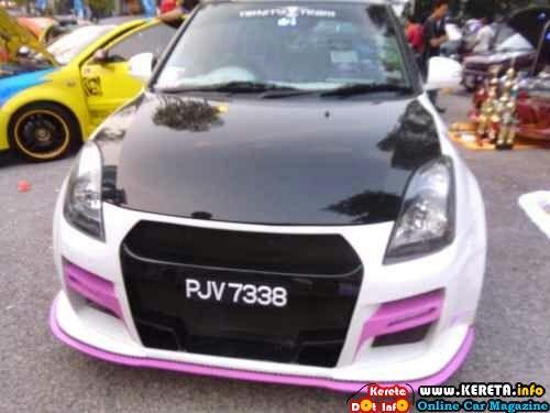 Suzuki swift modified gtr custom bumper body kit