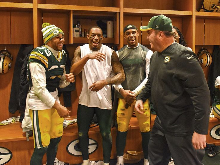 Packers Locker Room After Cowboys Win