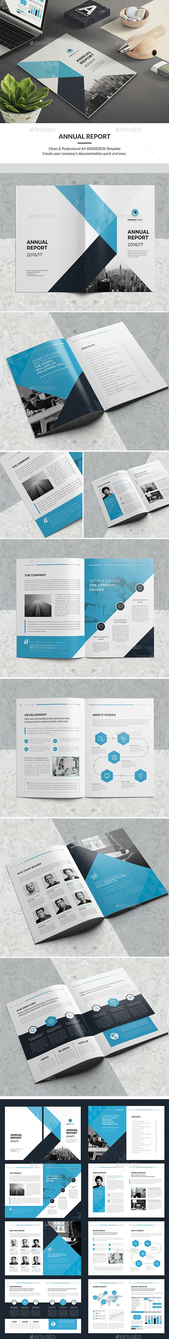 Annual Report  — InDesign Template #professional #brochure design • Download ➝ https://graphicriver.net/item/annual-report/18061251?ref=pxcr