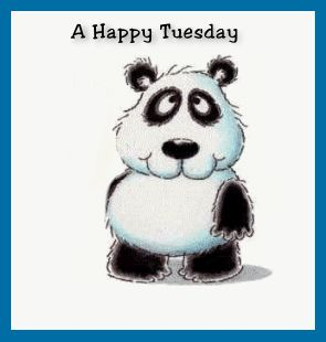 A Happy Tuesday From Me To You quotes quote gif panda days of the week tuesday tuesday quotes tuedsagy quote