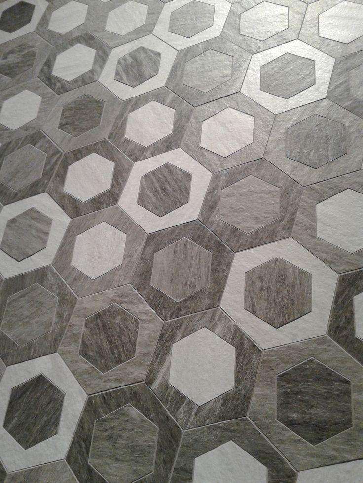 Pieve Mosaic Multicolor 35x28 cm. | Bolano series | Arcana Tiles at Cevisama 2016