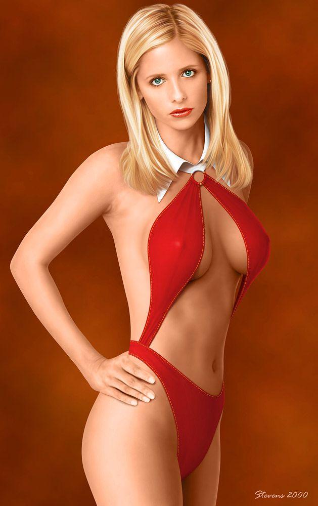 Sarah Gellar Nude 49