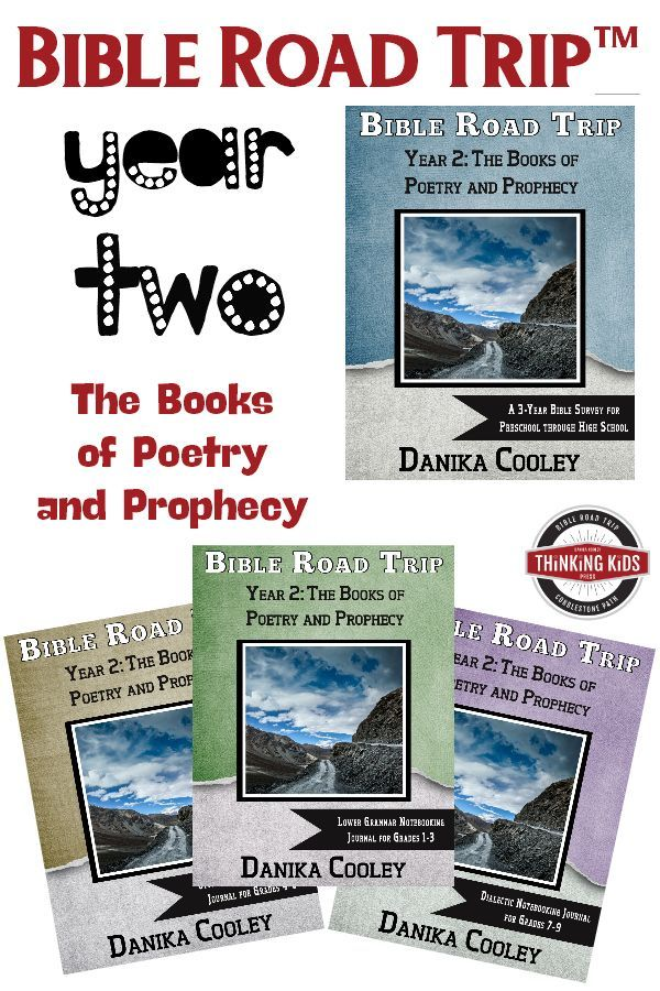 Bible Road Trip™️ Year Two: The Books of Poetry and Prophecy