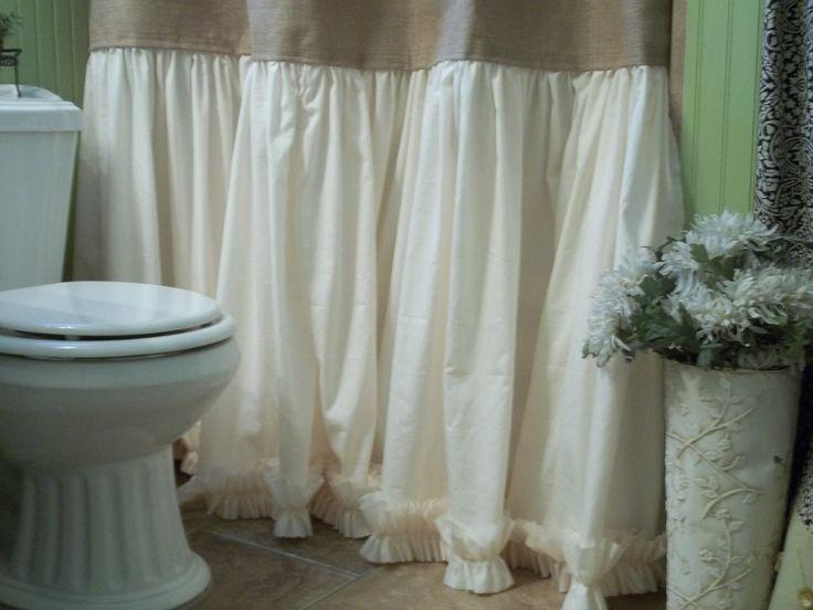 M s de 1000 ideas sobre cortinas para ducha de arpillera - Cortinas de arpillera ...