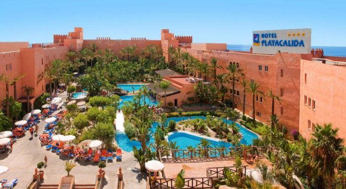 Hoteles para viajar con niños. Hotel para niños PlayaCálida Spa en Almuñécar