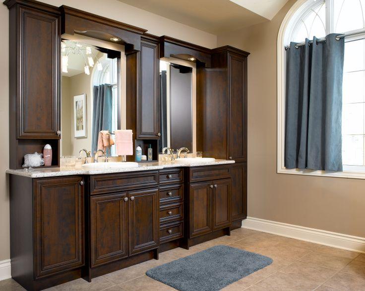 17 best images about portfolio salle de bain on pinterest - Grande armoire salle de bain ...