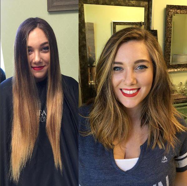 Corte volumoso e ondulado. | 18 transformações incríveis que vão te inspirar a cortar o cabelo