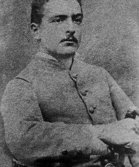 Martiniano Santa María, Teniente de la 4° Compañía del 1° Batallón del Regimiento Esmeralda. Participa en las Batallas de Tacna, Arica, Chorrillos y Miraflores, posteriormente participa en la campaña de la sierra.