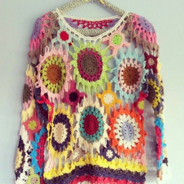 Free Gypsy Vest Crochet Pattern : 17 Best images about Creative Clothing on Pinterest ...