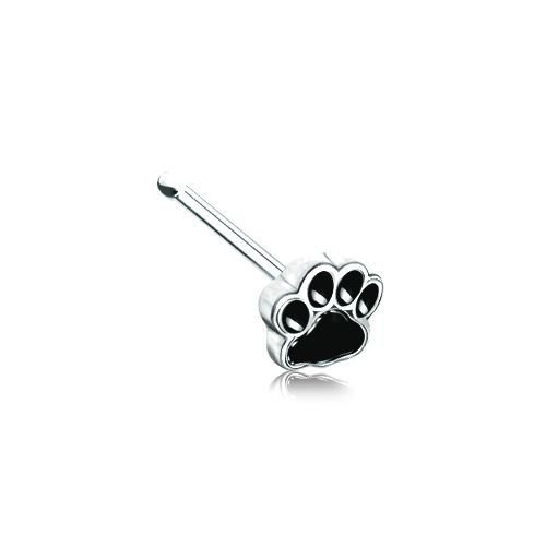 """FREE SHIPPING Animal Print Nose Stud Specifications: 20ga Surgical Stainless Steel 9/32"""" Barbell Length"""