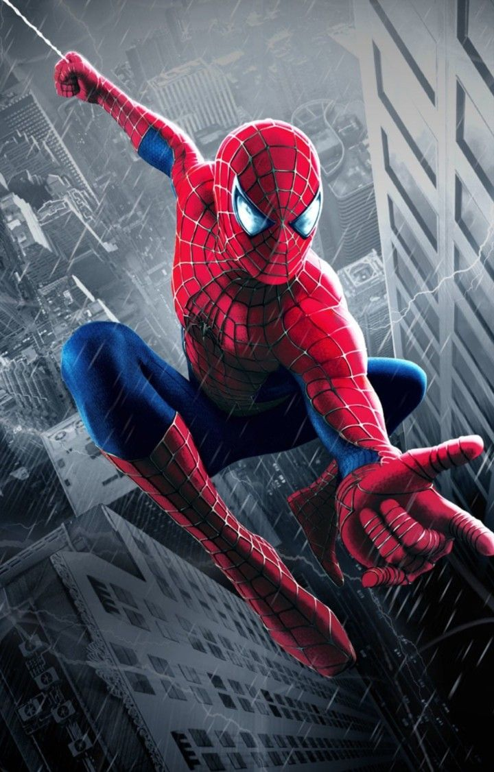 Marvel Por Tomas Gahn Hombre Arana Comic Spiderman Asombroso