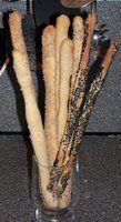 Sesame Bread Sticks (soepstengels)
