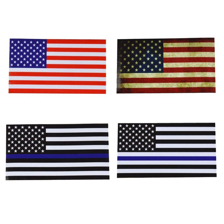 Flags Decal American Flag Sticker