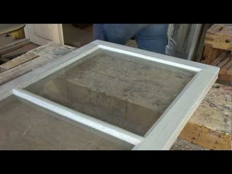 Puupokaisen ikkunan kunnostus - YouTube