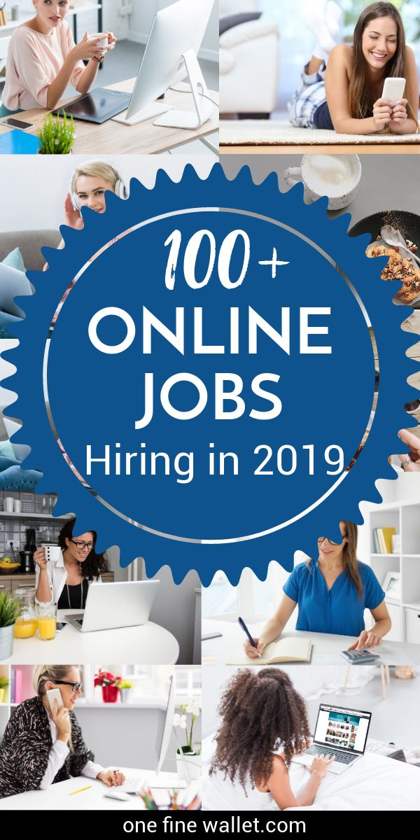 Work from Home Jobs 2019