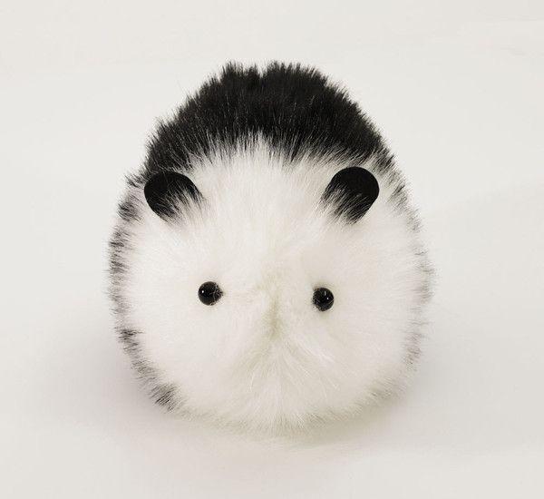 Panda the Black and White Guinea Pig Stuffed Plush Toy
