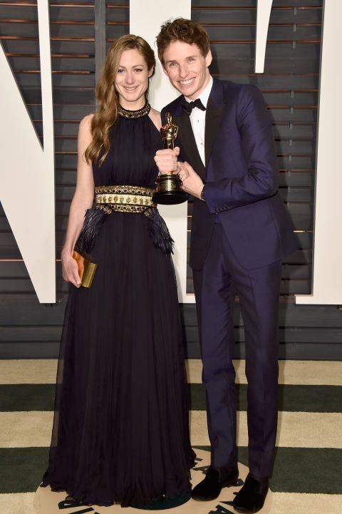 Hannah Bagshawe and Eddie Redmayne. See what all the stars wore to the Academy Awards' biggest after parties.