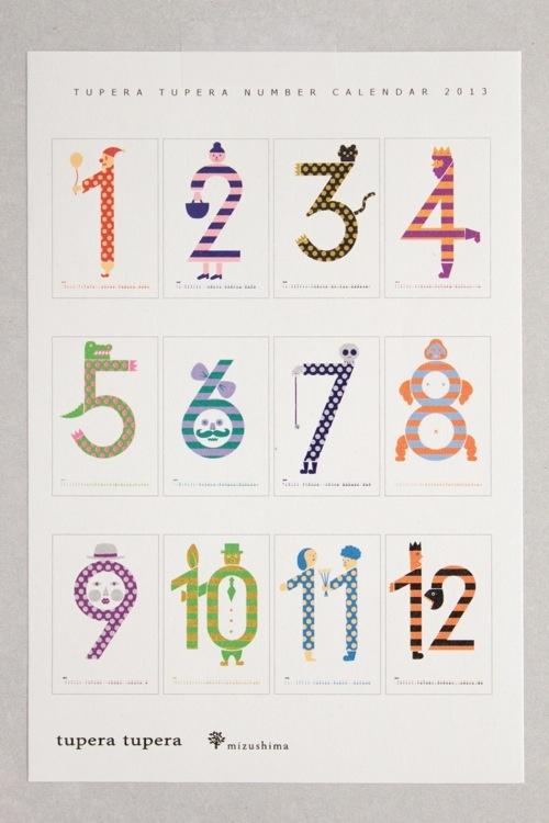 tupera tupera calendar