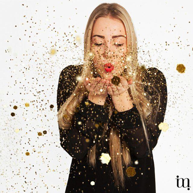 Ben jij al ready voor oud & nieuw? Voor je het weet is 2016 alweer van start gegaan! Confetti en glitter!