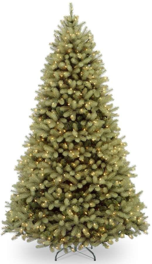 10-ft. Pre-Lit Dual LED ''Feel Real'' Downswept Douglas Fir Artificial  Christmas Tree - 10-ft. Pre-Lit Dual LED ''Feel Real'' Downswept Douglas Fir