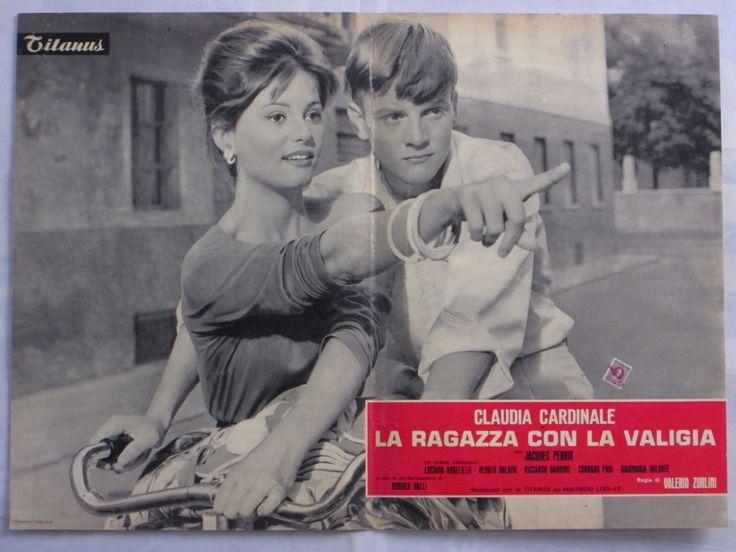 Fotobusta LA Ragazza CON LA Valigia Claudia Cardinale Zurlini Dramma 22041 | eBay