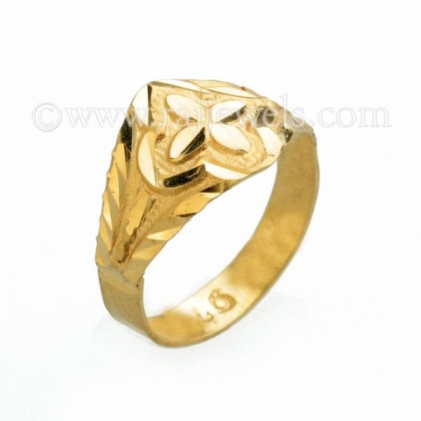 17 best Textured Gold Rings images on Pinterest