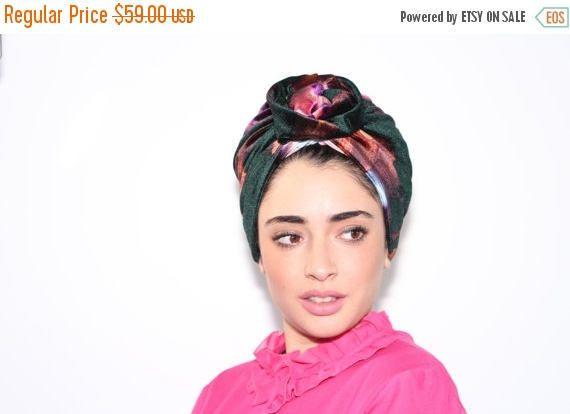 35%OFFSALE hijab turban floral hijab turban velvet hijab