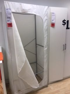 Portable closet. IKEA