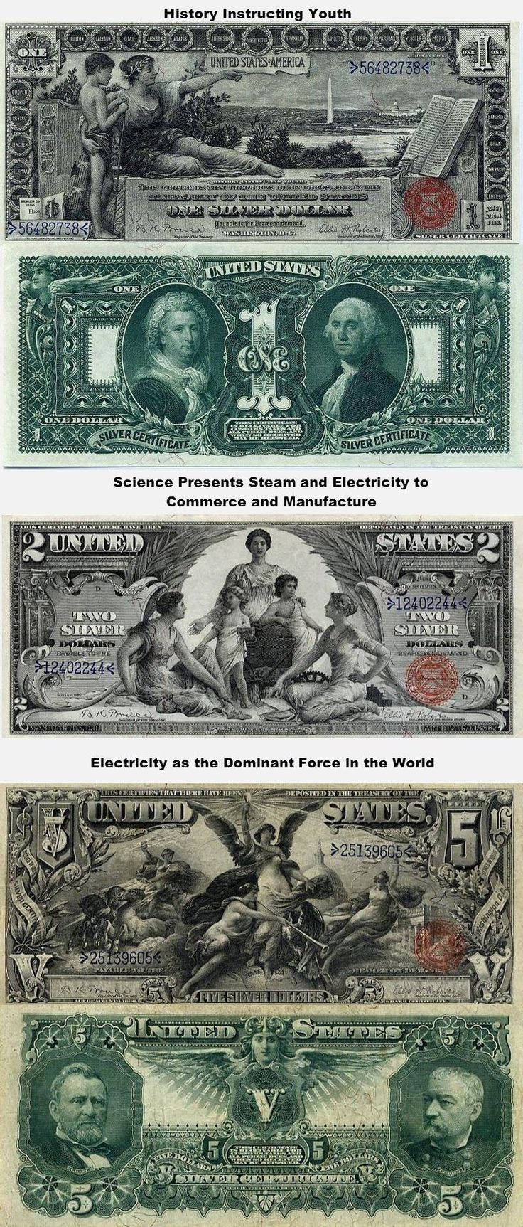 America Once Had Beautiful, Educational Currency