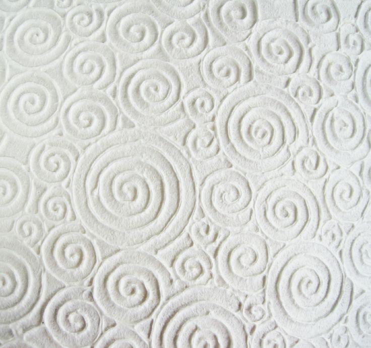 Embossed handmade sheets