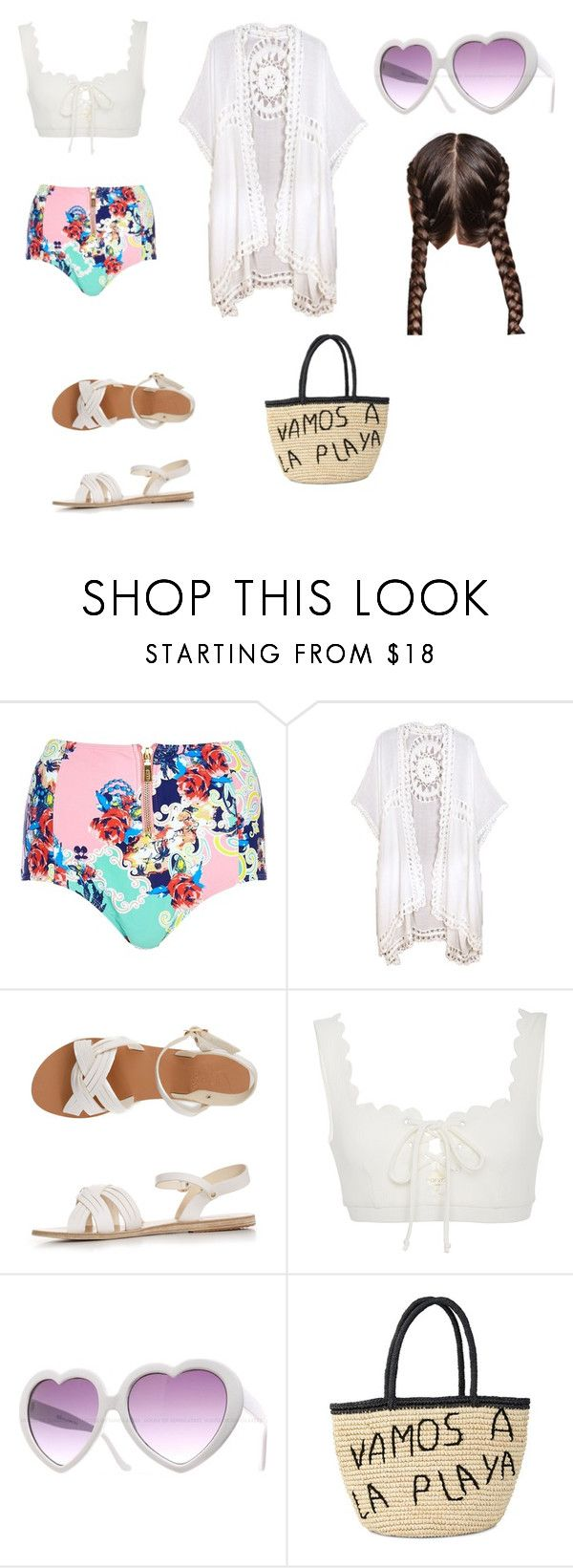 """""""vamos a la playa"""" by daisyjones-2 on Polyvore featuring Pacha, Do Everything In Love, Ancient Greek Sandals, Marysia Swim, Ultimate and Sensi Studio"""
