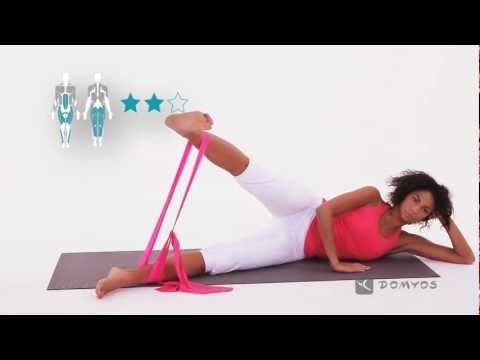 EXERCISE VIDEOS: FIT BAND, Domyos