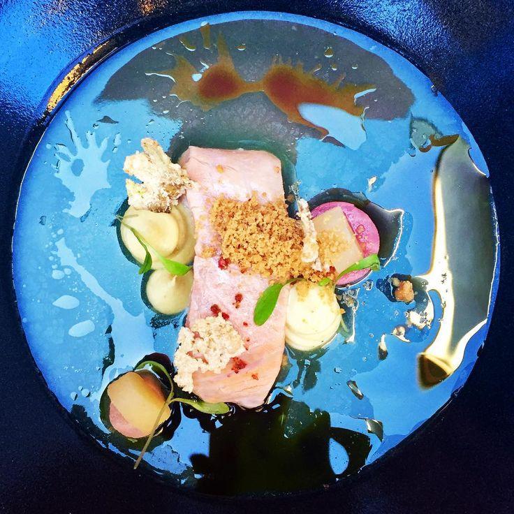 """""""Sea of love"""" at Rutz, one of our favorite restaurants, some weeks ago... #fishdish #rutzweinbar #rutz #restaurantberlin #fischessen #foodart #weinbarrutz #weinbar #bestfoodberlin #seaoflove"""