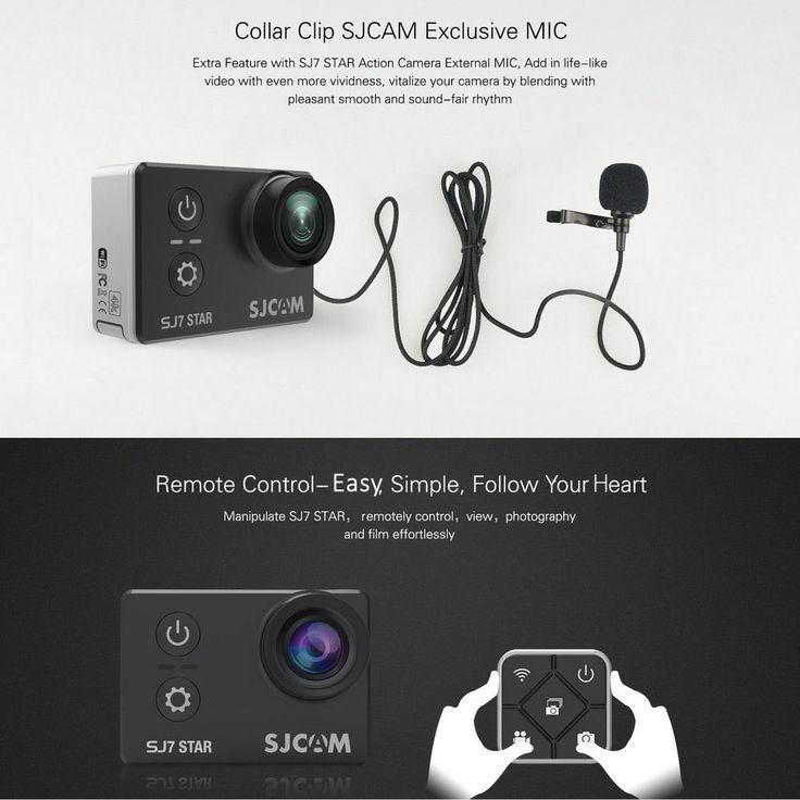 Original SJCAM SJ7 STAR 4K WiFi Action Camera 2.0 inch Touch Screen 166 Degree FOV 12MP
