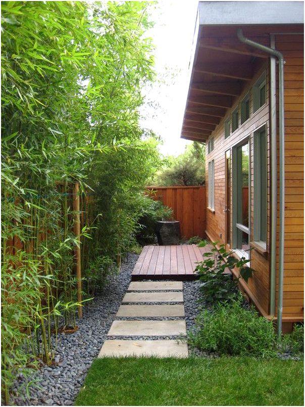 Desain Taman Minimalis Belakang Rumah Sederhana Modern Lahan Sempit Terbaru Desain Halaman Patio Rumah Kebun