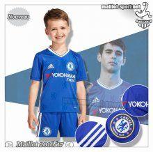 Maillots-Sport: Les Nouveaux Maillot Foot FC Chelsea Enfant Domicile 2016 2017