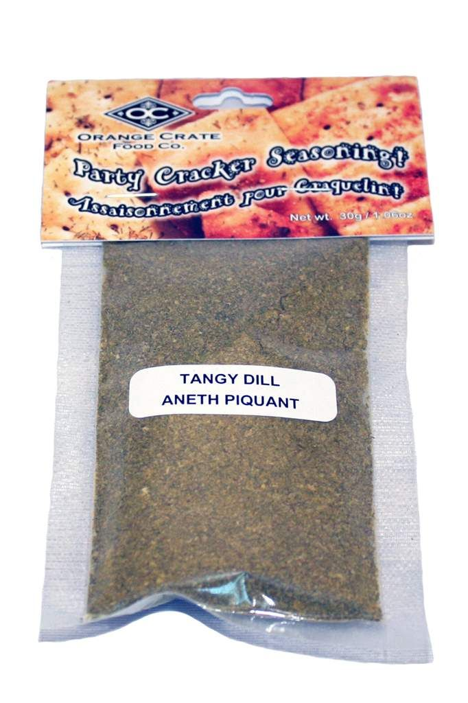 PARTY CRACKER SEASONING/TANGY DILL