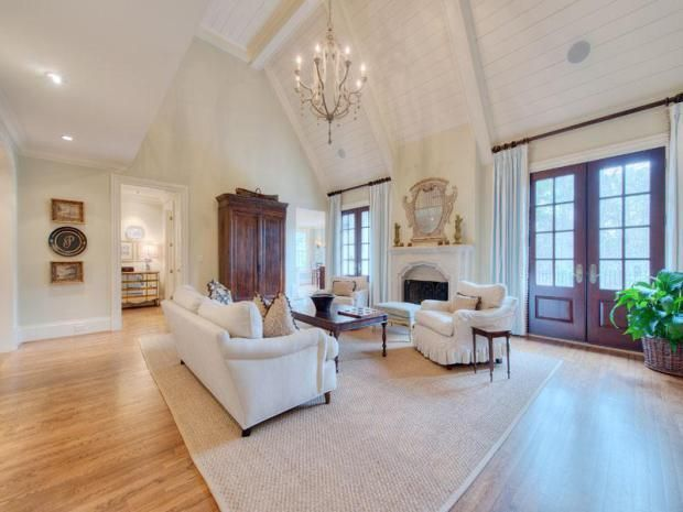 DesignHome - Ceiling / Here is a home in GA which utilizes both plank ...