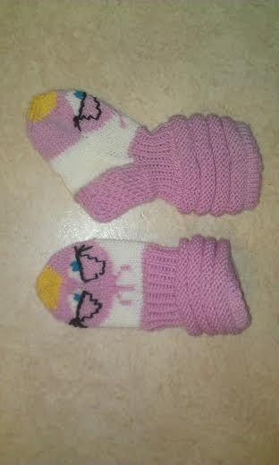 Stella (Angry Birds) -socks